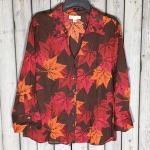 NWT Ladies Coldwater Creek Blouse